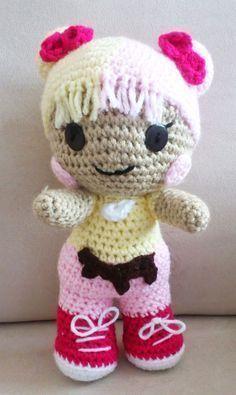Amigurumi Free, Amigurumi Doll, Crochet Dolls Free Patterns, Doll Patterns, Crochet Gifts, Crochet Toys, Homemade Dolls, Knitted Animals, Doll Tutorial
