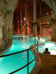 Miskolctapolca, thermal cave bath, Hungary