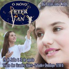 """19 de Julho à 31 de Agosto ♥ """"O Novo Peter Pan"""" com Bia Passos ♥ Teatro dos Grandes Atores ♥ RJ ♥  http://paulabarrozo.blogspot.com.br/2014/07/19-de-julho-31-de-agosto-o-novo-peter.html"""