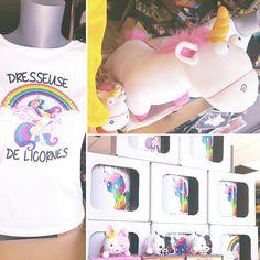 """🌈 Instant #kawaii ... Avec de la licorne 🦄 ! T-shirts, mugs, peluches !!! Et pour ajouter une idée de chocolat pour Pâques, voici arrivés les œufs surprise """"tsumtsum"""" à collectionner :-)   #Nekoten #cagnessurmer #nice #japan #candies #chocolat #pâques #idéescadeaux #miam #collagene #nouveau #unique #instapic #shop #france"""