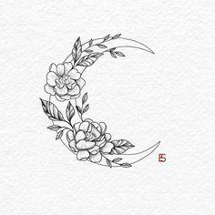 30 Best hot trendy tattoos moon design ideas for women 30 Best hot trendy tat . - 30 Best hot trendy tattoos moon design ideas for women 30 Best hot trendy tat Tatto Drawings - Inspirational Tattoos, Pattern Tattoo, Moon Tattoo, Tattoos, Moon Tattoo Designs, Trendy Tattoos, Flower Tattoo Designs, Wildflower Tattoo, Tattoo Designs