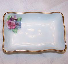 SALE Vintage Crown Staffordshire Trinket Dish by LottieMaesVintage, $11.00                                                 youtube to mp3
