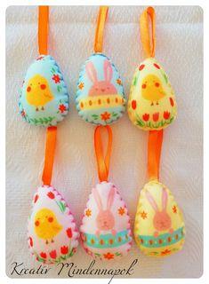 A műanyag tojásokat váltsd fel kellemes tapintású, pihe-puha filctojásokra ☺️🐰🥚. Mérete 6 cm Felt, Cake, Design, Felting, Kuchen, Feltro, Torte, Cookies
