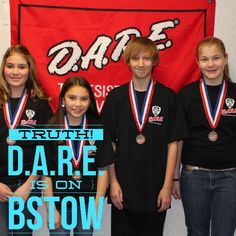 D.A.R.E. is on Bstow!