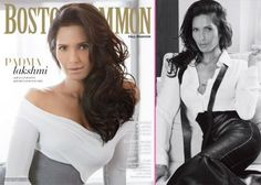 Padma Lakshmi Covers Boston Common Fall Fashion Issue! | GossipCenter - Entertainment News Leaders
