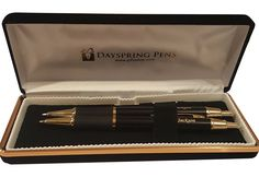 Monaco pen and pencil set late father's day gifts.gifts for dad Grandpa Gifts, Fathers Day Gifts, Personalised Pens, Good Good Father, Monaco, Best Gifts, Pencil, Men, Black