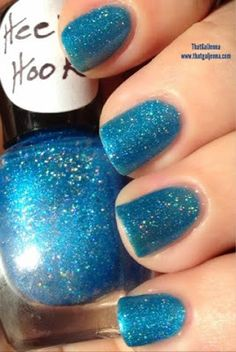 ThatGalJenna - Knockout Lacquer - Holo Collection - Heel Hook - indirect sunlight