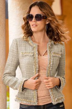 Boston Proper Parisian jacket #bostonproper |  On sale now, 3 colors