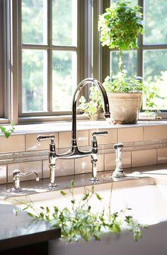 beautiful faucet