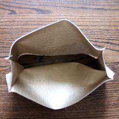DIY metallic purse