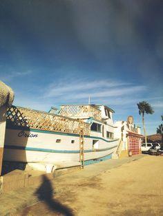 Boat Shanty Restaurant. La Paz, Mexico