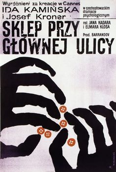 The Shop on Main Street, Polish Movie Poster