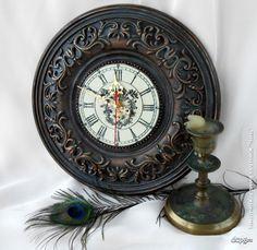 """Декупаж - Сайт любителей декупажа - DCPG.RU   """"Часы"""" № 11. """" Еще идут старинные часы""""."""