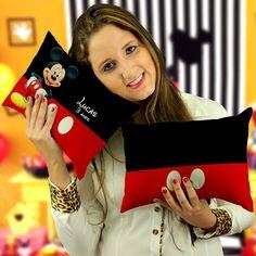 Almofada Personalizada para Festa do Mickey Mouse Modelo 030    ------------------------------------------------------------------------------  Kit com 30 Almofadas Personalizadas Tamanho 20x30 personalizada Frente e Verso  -------------------------------------------------------------------------...