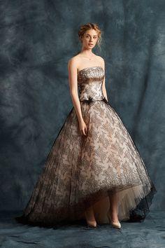 black chantilly lace wedding dress   fabmood.com #weddingdress #ateliereme #bridal #bride #weddingdresses2017