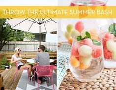 How to Throw the Ultimate DIY Summer Party