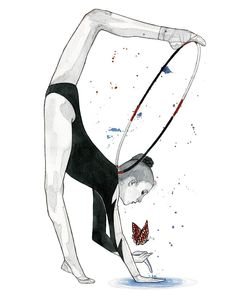 inspired by Amina Zaripova (RUS)