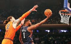 The World's Most Famous Arena will play host to a Friday night NBA clash between the Oklahoma City Thunder and the New York Knicks. Sports Picks, Sports Fan Shop, Julius Randle, Chris Paul, Western Conference, Wnba, Games Today, Oklahoma City Thunder