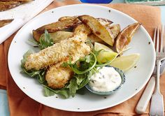 Coconut Fish Fingers with Caper Mayo recipe - Easy Countdown Recipes How To Make Mayonnaise, Coconut Fish, Fish Recipes, Healthy Recipes, Fish Finger, Shredded Coconut, The Dish, Quick Meals, Avocado Toast