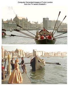 'Tudor' London, CGI #1 by That Boleyn Girl, via Flickr