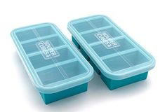 Souper Cubes® is the best way to freeze and store your soup, stock, broth or sauce in perfect portions. Don't just freeze it, Souper Cube it! Try Souper Cubes® today. Ice Cube Molds, Ice Cube Trays, Cubes, Freezing Pesto, Cup Of Soup, Freezer Organization, Soup Broth, Perfect Portions, No Plastic