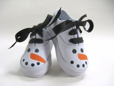 Girl's Snowman Shoes Baby and Toddler  by boygirlboygirldesign, $28.00