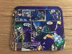 Batman mousemat.
