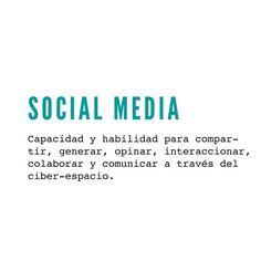 ✔ social media