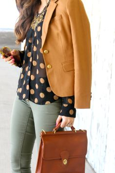 Updates to a classic young professional look  I love when I see a pin on pinterest and I have the exact staples in my closet but never thought to put them together, until now! Outfit from Express :)