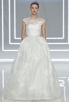 Brides.com: . Wedding dress by Rosa Clará