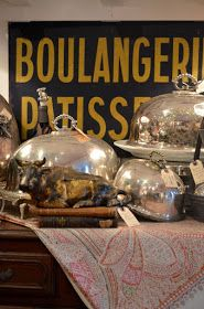 Eye For Design: Decorating With Silver Meat Domes......Fun To Use Or Display!