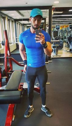 The best collection of confident, masculine men in spandex and lycra training gear. This tumblr...
