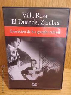 VILLA ROSA, EL DUENDE, ZAMBRA. EVOCACIÓN DE LOS GRANDES TABLAOS. DVD DE LUJO.