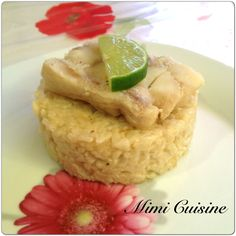 Rissoto au lait de coco et son cabillaud by Cookeo 2 - Mimi Cuisine