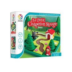Help Little Red Riding Hood find her way to Grandma's House with this fun puzzle! Choose one of the 48 challenges and set up the game board with the house, Little Games, Games For Kids, Popular Fairy Tales, Preschool Puzzles, Challenge 24, Practical Gifts, Brain Teasers, Unusual Gifts, Red Riding Hood