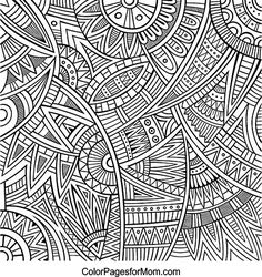 Doodles 19 Coloring page