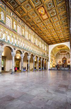 The Basilica of Sant' Apollinare Nuovo, Ravenna, Italy