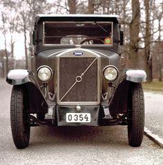 Volvo, the 1927 ÖV4.