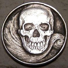 John Hughey - Silver Nazi Skull