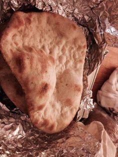 Indian naan bread made with famu yogurt