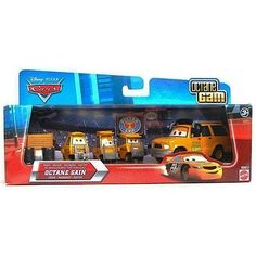 Disney / Pixar CARS Movie 155 Die Cast Cars Exclusive Set Team Octane Gain Crew by Mattel Toys. $37.75. Care and Cleaning: Spot Clean Only. Manufacturer's Suggested Age: 4 Years and Up. Start your collection today with this CARS Exclusive Die Cast 155 scale 3Pack.