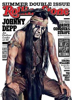Johnny Depp As Tonto | Confesiones de Johnny Depp en revista Rolling Stone - Noticias y ...