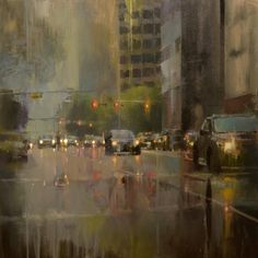 "160614 ""78704 imports"" (Austin, TX) 38x38"" oil on canvas"