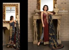 Asim Jofa Winter Dresses Collection 2015-16 For Girls
