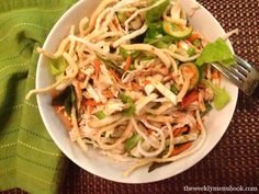 Asian Chicken Salad #glutenfree #caseinfree