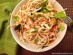 Asian Chicken Salad #glutenfree #caseinfree