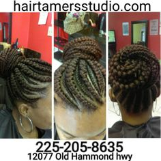 #braids #braidstyle #feedinnraids #brbraider #africanhairbraider #louisiana #batonrouge #onfleek #cute #hairbraiders #hairbraiding #1 #braidshop