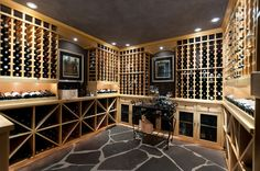 Recent Work - traditional - wine cellar - vancouver - blurrdMEDIA