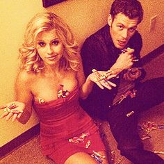 The Vampire Diaries, Claire Holt & Joseph Morgan