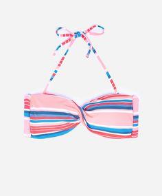 Bandeau bikini foam raya multicolor - OYSHO